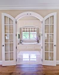 Traditional Interior Shutters Arches In Bathroom Bathroom Traditional With Soaking Tub