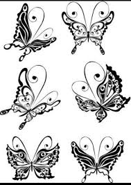 more butterflies finger tattoos projects to try