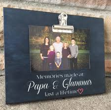 personalized gift for grandparents memories made gift for