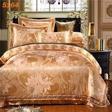 King Size Silk Comforter Elena 6pcs Silk Bedding Sets Camel 4pcs Silk Bed Set King Size