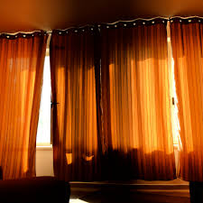 Ikea Flower Curtains Decorating Sumptuous Sheer Sliding Orange Curtains Ceiling To Floor Drapery