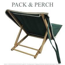High Beach Chairs Wooden Beach Chair Pack And Perch