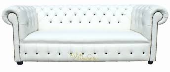 White Leather Chesterfield Sofa Unique Leather Chesterfield Sofa Bed 2018 Couches And Sofas Ideas