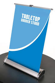 table top banners for trade shows fabulous nimbus 8 table top retractable banner stand com on tabletop