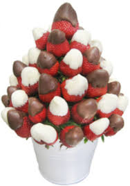 chocolate strawberry bouquet fresh fruity chocolate strawberry bouquet