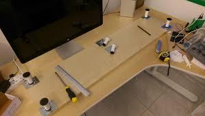 Standing Laptop Desk Ikea by 10cm Lift Desk Shelf Monitor Stand Ikea Hackers Ikea Hackers