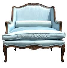 Bergere Home Interiors Vintage French Louis Xv Style Carved Walnut Oversized Bergere Arm