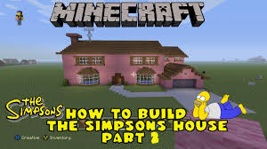 minecraft house floor plan minecraft how to build the simpsons house part 2 first floor