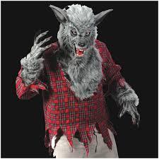 horror masks halloween deluxe grey werewolf halloween mask halloween costume mad