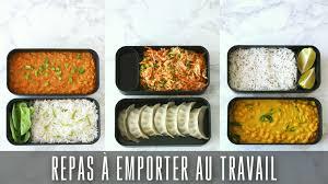 recette d駛euner au bureau repas vegan à emporter au travail base riz esmeralda