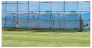 xtender 24 u0027 72 u0027 home batting cages for the backyard