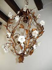 porcelain chandelier roses chandelier ebay