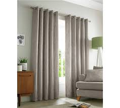 buy academy eyelet curtains 229x183cm natural at argos co uk