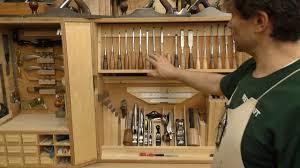 Wood Tool Storage Cabinets Rob Cosman U0027s Shop Tool Cabinet Youtube