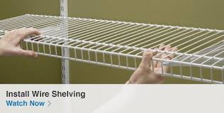 wire shelving closet organizer best adjustable systems metal 19