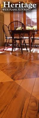 heritage wide plank flooring home