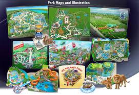 Busch Gardens Map Map A Park