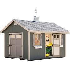 ez fit riverside 10x14 wood shed 10x14ezkitr free shipping