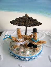 Starfish Wedding Centerpieces by Flamingo Beach Wedding Cake Topperseashell By Ceshoretreasures