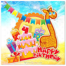 Happy Fourth Birthday Quotes Happy 4th Birthday Wishes For 4 Year Old Boy Or Girl
