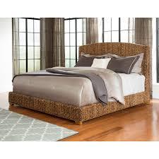 unique cal king size panel bed modern upholstered platform bed
