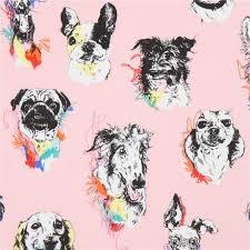pink henry fabric bow wow wow kawaii