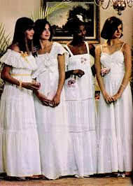 prom looks of the 1970s 70s vintage fashion think mom made