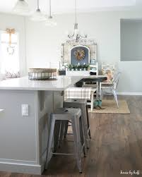First Home Renovation White Quartz by The State Of The Kitchen Our Improved Kitchen Island House By Hoff