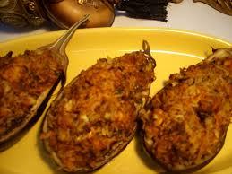 recette de cuisine poisson recette aubergines farcis au poisson choumicha cuisine marocaine