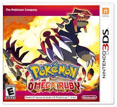 pokemon omega ruby for nintendo 3ds toys
