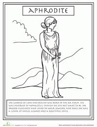 greek goddess coloring pages aecost net aecost net