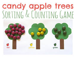 candy apple math game for kids no time for flash cards