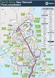 National Zoo Map North Shore New Bus Network To Be Confirmed Greater Auckland