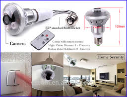 wifi camera light bulb socket p2p 720p hottest security l light bulb night vision with motion