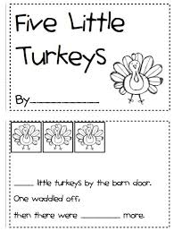 printable mini book pages for for thanksgiving happy