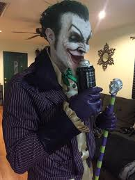 halloween prosthetic mask arkham asylum joker u2014 stan winston of character arts forums
