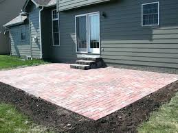 Cost Of A Paver Patio Paver Patio Cost Snaptrax Co