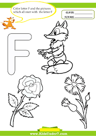 the letter f worksheets free worksheets library download and