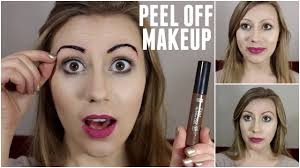 Eyebrow Tattoo Before And After Peel Off Makeup Tattoo Etude House Tint My Brow Britany Burnside
