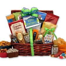 birthday baskets for him motorcycle gift basket for him