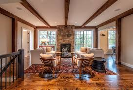 Barn Home Interiors by Grantham Lakehouse Yankee Barn Homes