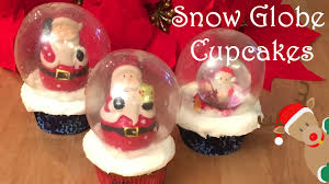 halloween snow globe snow globe christmas cinnamon cupcakes cheeky crumbs youtube