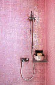 love the pink glass tile deborah bubblegum pink room emily