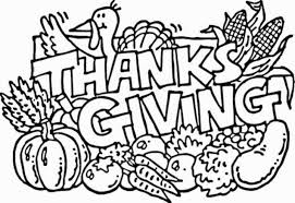 free thanksgiving pages for coloring happy thanksgiving