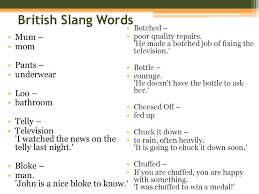 British Words For Bathroom Chapter 5 Language Issue 1 Origin Diffusion And Dialects Of