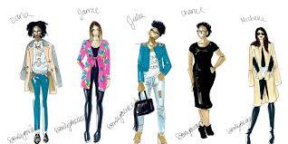 chic sketch fashion app will turn your photos into custom fashion