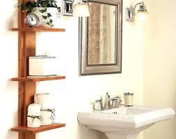 Hanging Bathroom Shelves Cool Bathroom Shelves Stroymarket Info