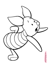 piglet printable coloring pages 2 disney coloring book