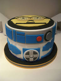 round star wars cake