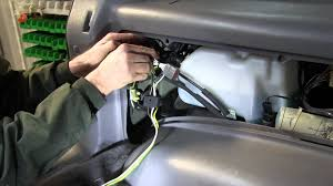 installation of a trailer wiring harness on a 1994 ford explorer